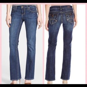 Kut from the Kluth Natalie High Rise Bootcut Jeans